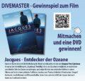 Gewinnspiel zum Kinofilm über Jacques Cousteau - noch bis 30.8.2017