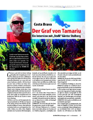 Stolli – Das letzte Interview mit dem Graf von Tamariu – Ausgabe DM87