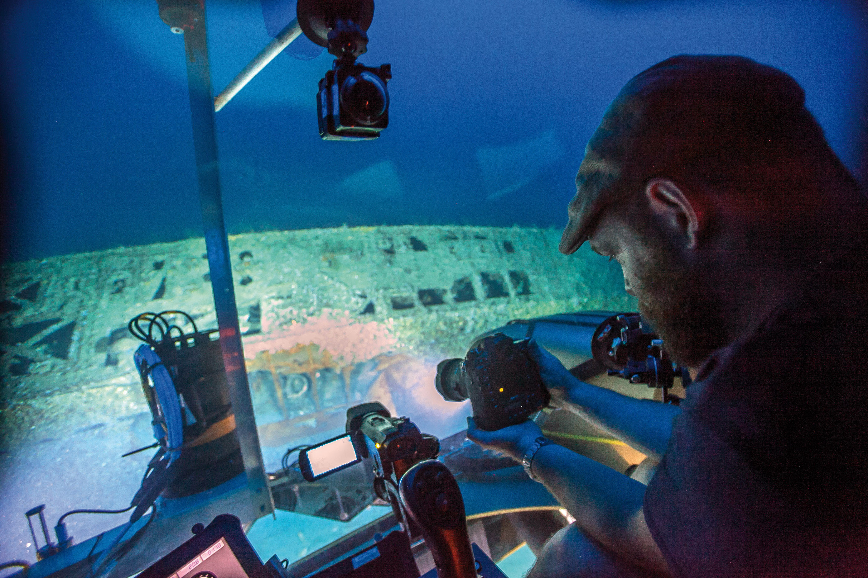 Tauchgang zum U-576 - Expedition mit 3D-Scanning Methoden