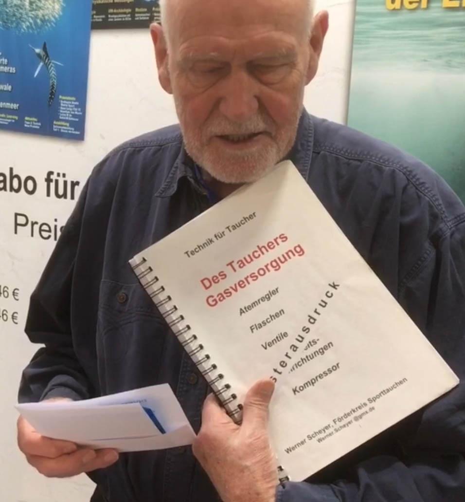 Neue Tauchtechnik CD von Werner Scheyer