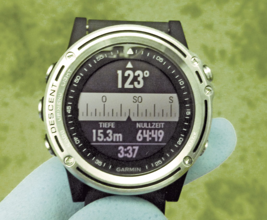 Praxistest: Garmin DescentTMMk1 und Aqua Lung i100