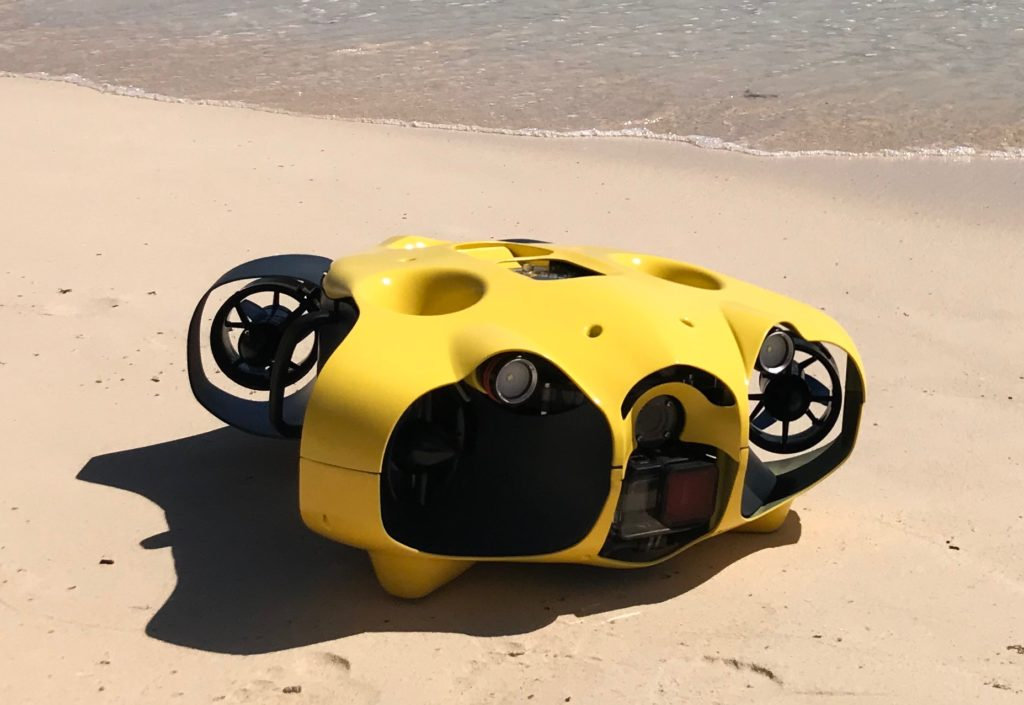 Praxistest: UW-Drohne iBubble