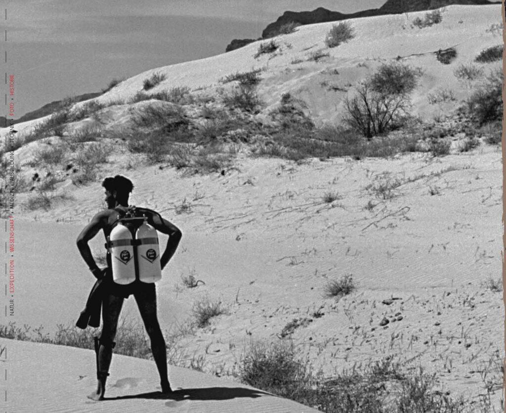 Tauchen im Death Valley