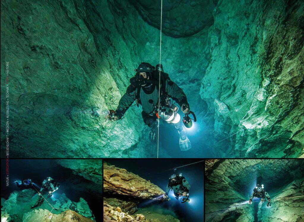 Budapest - Höhlentauchen