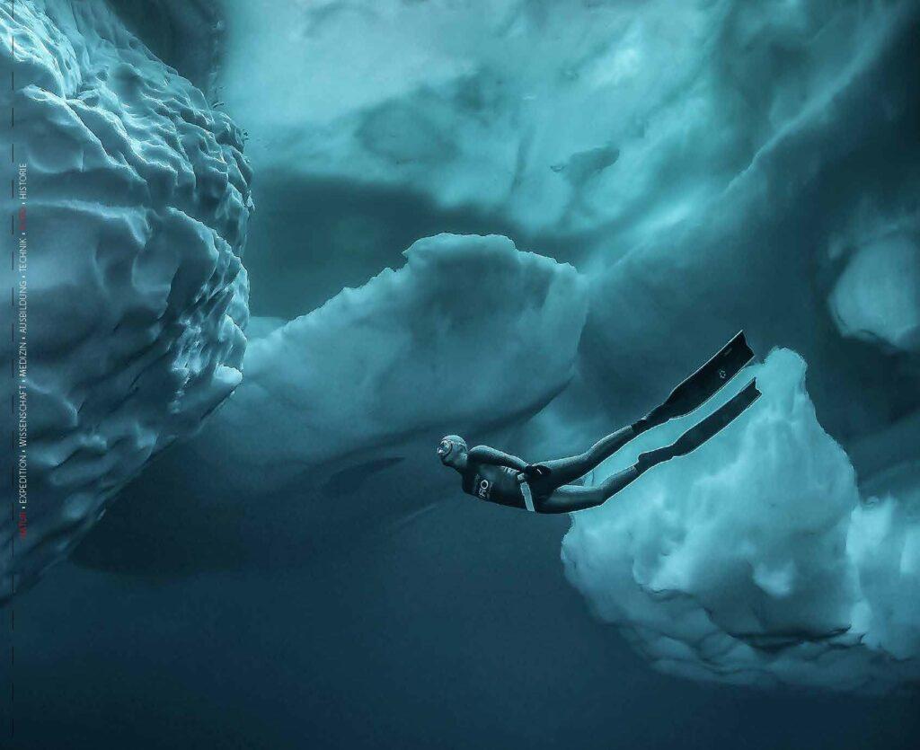 Apnoe unter Eis