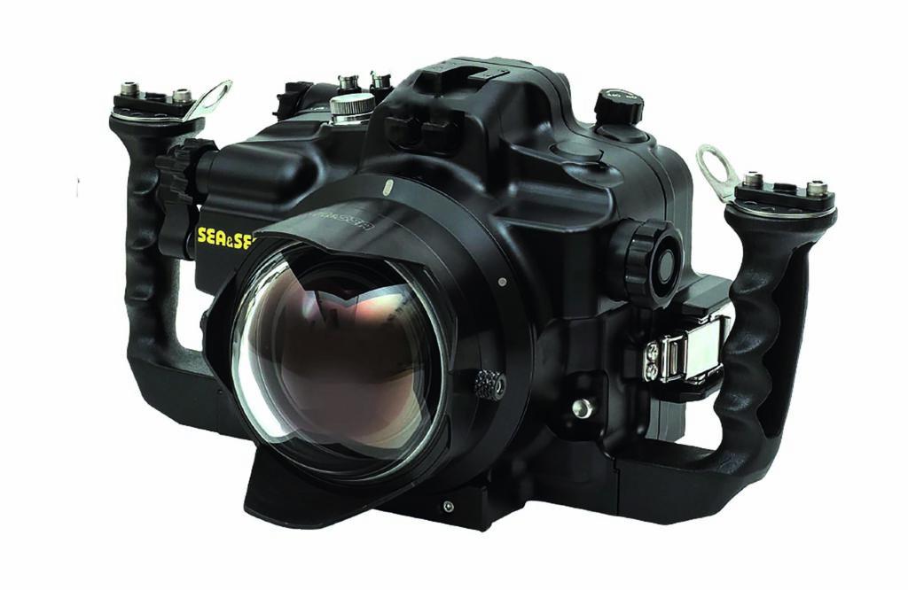 Canon EOS R im Sea&Sea Gehäuse
