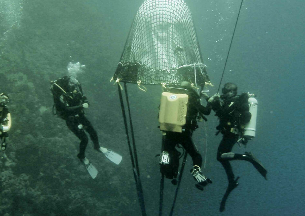 224,5 Meter - Tiefenrekord - 2003