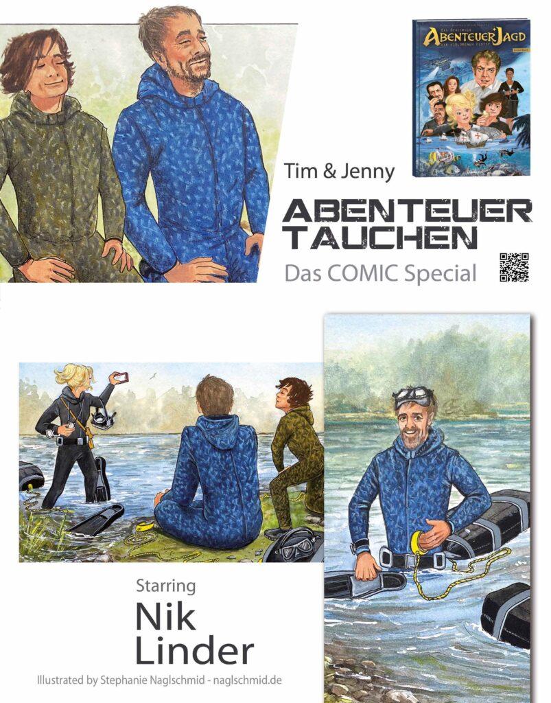 COMIC - Starring Nik Linder
